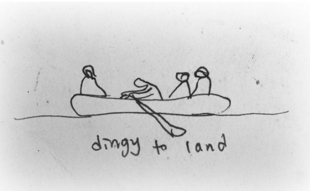Dingy to Land