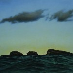 Scarp Sound painting by Fred Schley