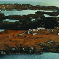 'Towards the Minch' painting by Fred Schley