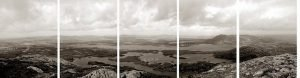 'Land, Water and Language' Photogravure - Chris Drury