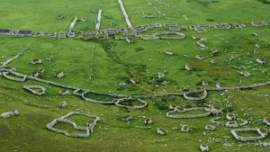 Lesions in the Landscape Village Bay from above
