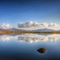 photograph of Reflection, Loch Hallan - Jean-François Martin