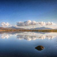 photograph of Reflection, Loch Hallan - Jean-François Martin