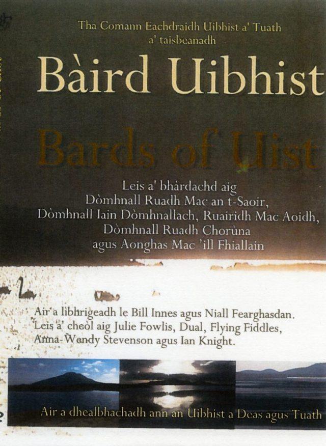 Uist Bard DVD