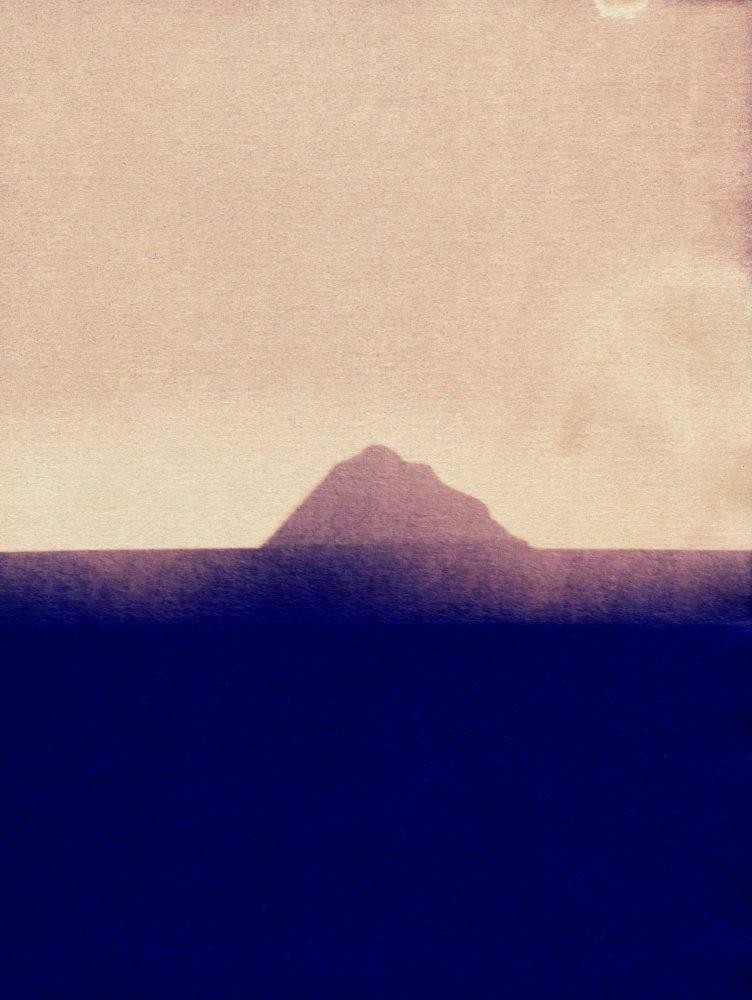 Blue Island II cyanotype image by Sayako Sugawara